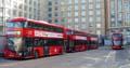 London United LT89, LT94, LT90 on Route 9